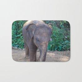 Baby Asian Elephant Bath Mat