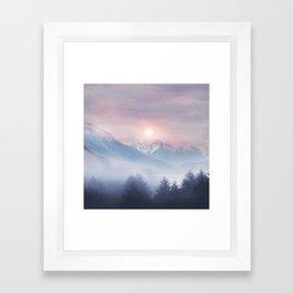 Pastel vibes 11 Framed Art Print