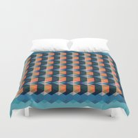 geo Duvet Covers featuring geo  by Little Things Studio