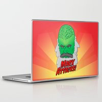 marx Laptop & iPad Skins featuring Marx Attacks! by ericbennettart
