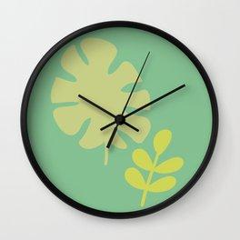 Botanical #2 Wall Clock