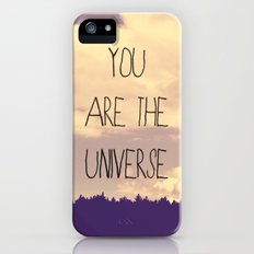 You Are The Universe  Slim Case iPhone (5, 5s)