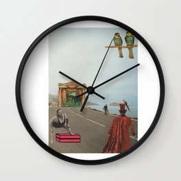 Lost Highway Wall Clock