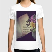 les miserables T-shirts featuring Books Les Miserables by KimberosePhotography