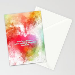 True Love.... Stationery Cards