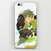 iwatobi iPhone & iPod Skins featuring Free! Club Makoto by Alyssa Tye