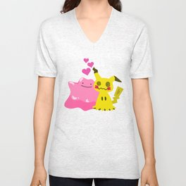 Mimic Love Unisex V-Neck
