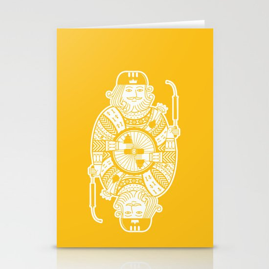 King of the road Stationery Cards