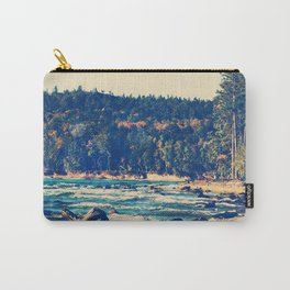 Rocky Shores of Lake Superior Carry-All Pouch