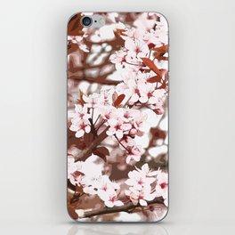 spring flowers pink iPhone Skin