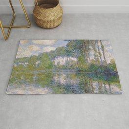 Claude Monet -- Poplars at the Epte Rug
