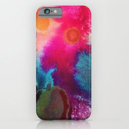Ink Drop Abstract iPhone Case