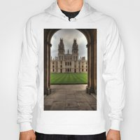 college Hoodies featuring Christ Church College, Oxford by Best Light Images