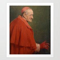 José Benlliure Gil , 1855 - 1937, Cardinal Roman Art Print