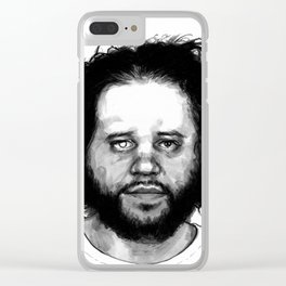 Mugshot: Mufid A. Elfgeeh Clear iPhone Case