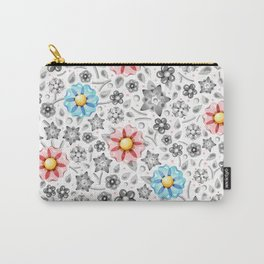 Millefiori Monotone Carry-All Pouch
