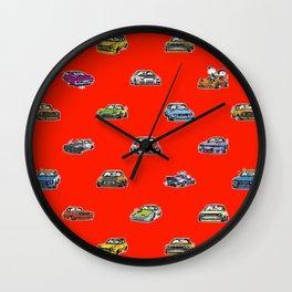 Crazy Car Art 0159 Wall Clock