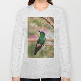 Bird - Photography Paper Effect 001 Long Sleeve T-shirt