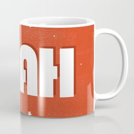 Yeah modern typography Coffee Mug