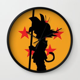 Son Goku Kakarot Childhood Wall Clock
