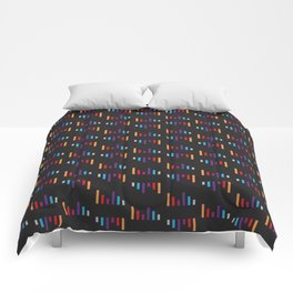 Parallel Lines Colourful #2 Comforters