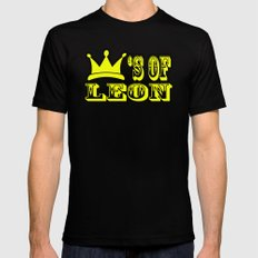Kings of Leon Mens Fitted Tee Black LARGE