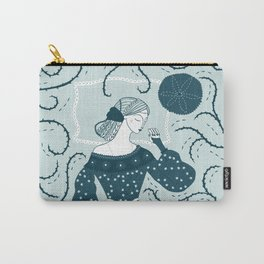 Little Briar Rose Carry-All Pouch