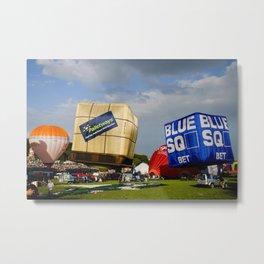 Bristol Balloon Fiesta Metal Print