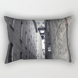 Old Montreal Cobble Road Rectangular Pillow