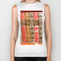 books Biker Tanks featuring Books by Regan's World
