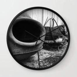 A Blaze Wall Clock