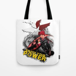 "InFamous Second Son - ""ENJOY YOUR POWER"" Tote Bag"
