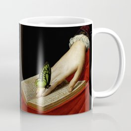 Gentle Reader Cropped Art Coffee Mug