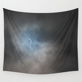 Solar eclipse Chile 2020 Wall Tapestry