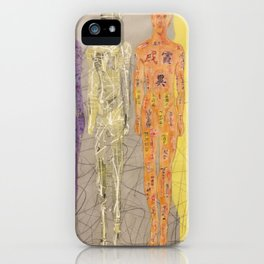 Invisible Men by GJ Gillespie iPhone Case