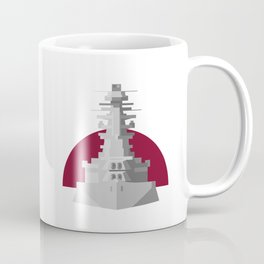 Battleship Nagato Coffee Mug