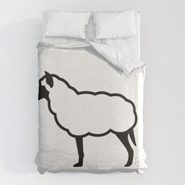 The Wolf in Sheep's Clothing Duvet Cover