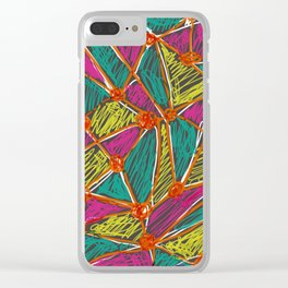 Life is Segmented Clear iPhone Case