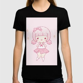 all pink T-shirt