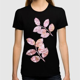 Abstract Autumn In Gold-Rosé T-shirt