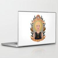 """karu kara Laptop & iPad Skins featuring Kara """"Starbuck"""" Thrace by heymonster"""
