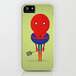 Spider man: My bug hero! iPhone Case