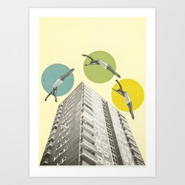 High Flyers Art Print