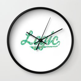 Attractive and unique tee design made specially for you! Wear it anytime, makes a nice gift too! Wall Clock