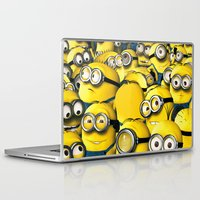 lannister Laptop & iPad Skins featuring DESPICABLE MINION by BeautyArtGalery