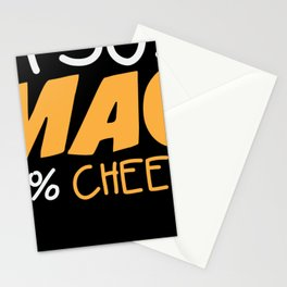 Cheese noodles for dinner gift Stationery Cards