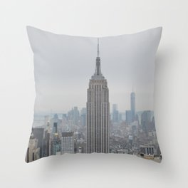 Dreamy NYC Throw Pillow