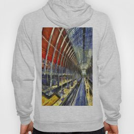 Paddington Railway Station Art Hoody