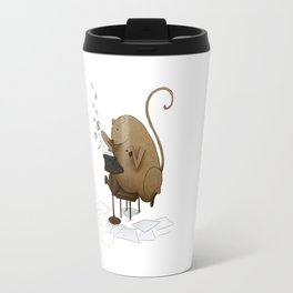MOUSEY LETTERS Travel Mug
