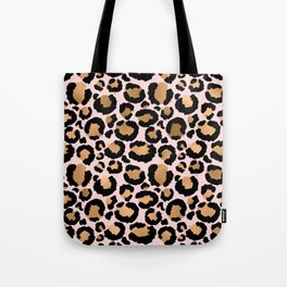 Animal print - pink copper Tote Bag